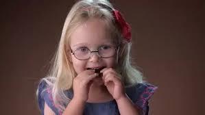 kids try dark chocolate